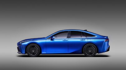 Next Generation Toyota Mirai is a Stunner 2