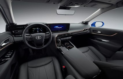 Toyota's New Car can Run on Hydrogen from Cow Manure 7