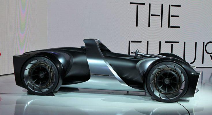 Toyota Unveils e-Racer Concept at 2019 Tokyo Motor Show 1