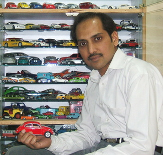 Aamir Ashfaq has Pakistan's Largest Collection of Die-Cast Cars 5
