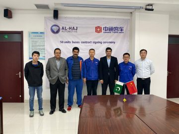Al-Haj Automotive Join Hands with Zhongtong Bus 5