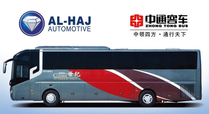 Al-Haj Automotive Join Hands with Zhongtong Bus 1