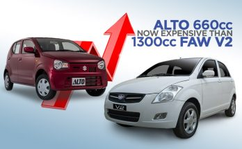 Pak Suzuki Alto Becomes Even More Expensive Than FAW V2 10