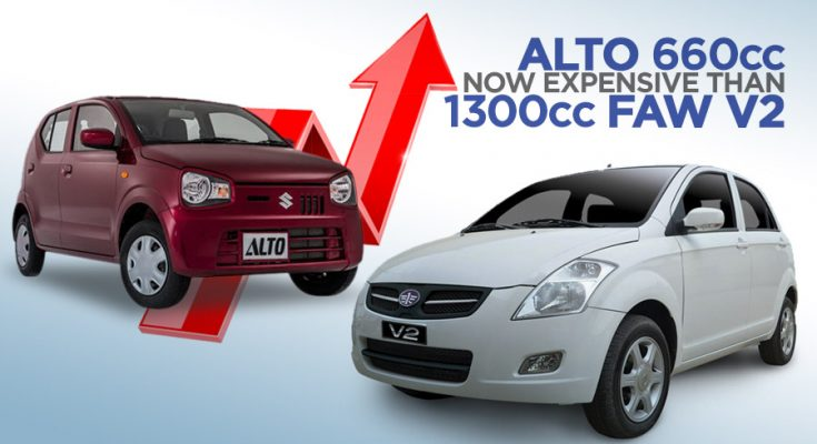 Pak Suzuki Alto Becomes Even More Expensive Than FAW V2 1