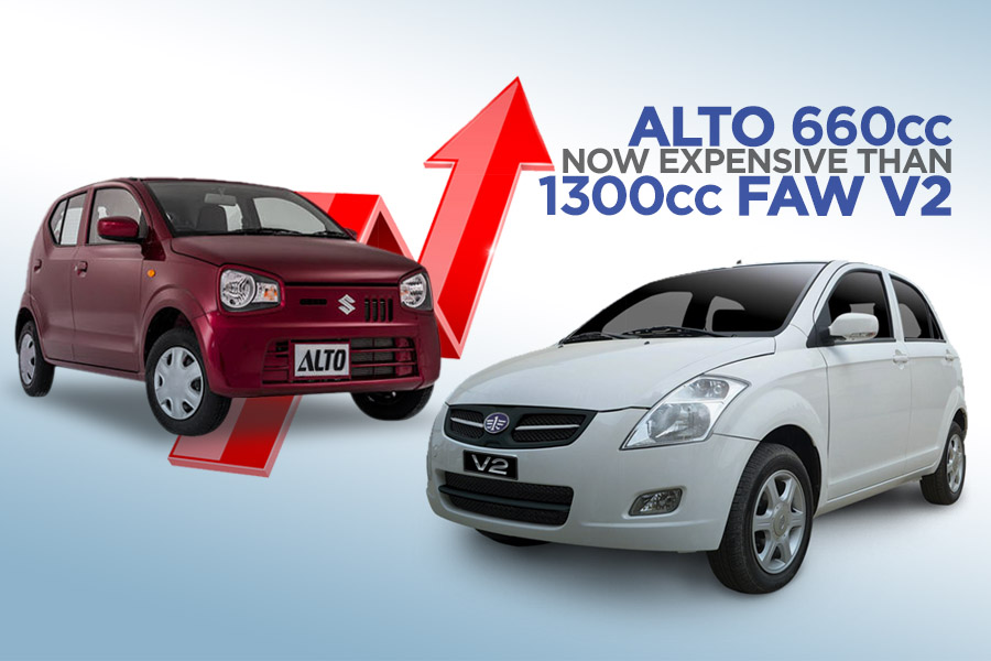 Pak Suzuki Alto Becomes Even More Expensive Than FAW V2 9