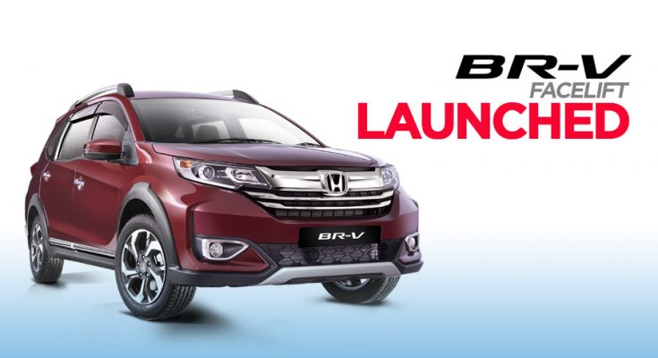 Honda BR-V Facelift Launched in Pakistan 2