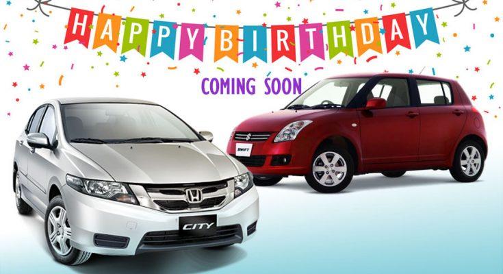 Honda City and Suzuki Swift Approaching Their Birthdays 2