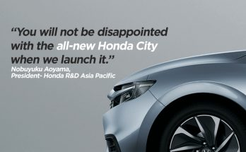 Honda Says Next Gen City Won't Disappoint You 9