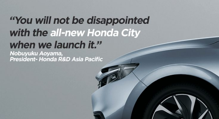 Honda Says Next Gen City Won't Disappoint You 1