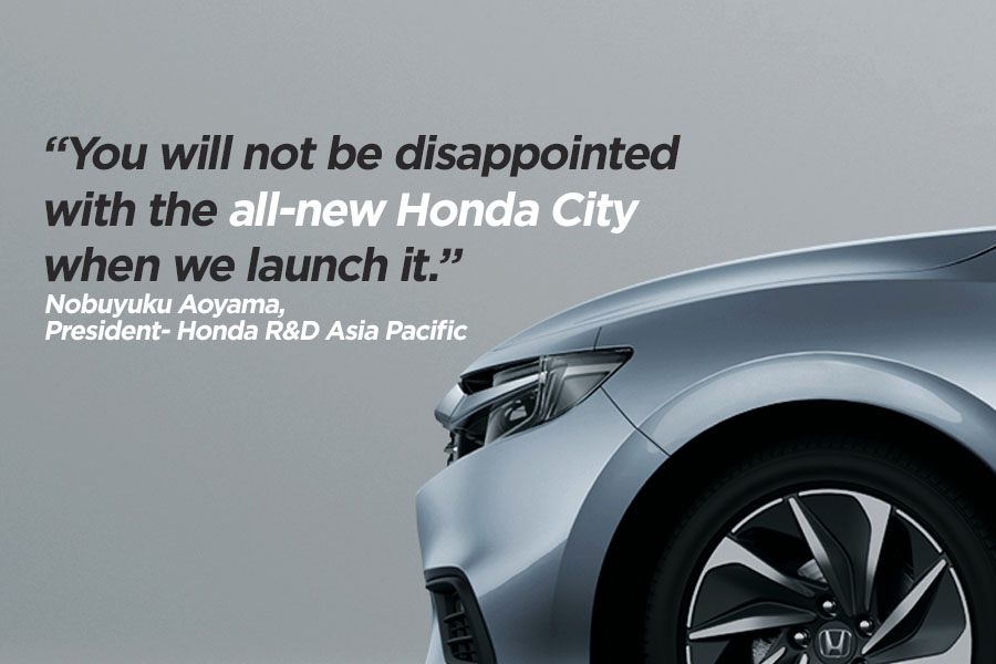 Honda Says Next Gen City Won't Disappoint You 10