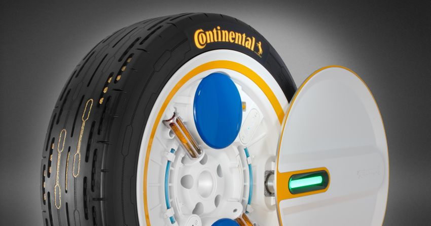 Continental Presents New Self-Inflating Tire Concept 10