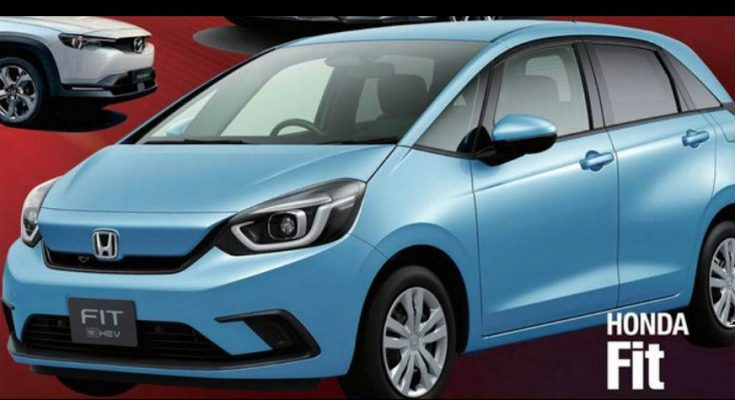 2020 Honda Fit/Jazz Leaked Ahead of Debut 1