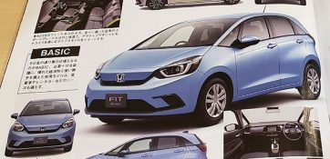 2020 Honda Fit/Jazz Leaked Ahead of Debut 5