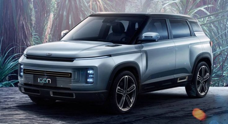 Geely Releases First Official Images of Icon SUV 1