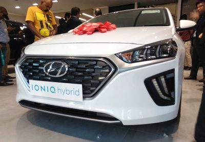 Hyundai Unveils Ioniq Hybrid- Digital Showroom Inaugurated in Karachi 2