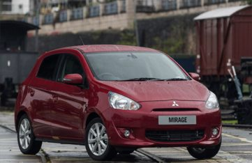 2020 Mitsubishi Mirage Facelift Spotted Testing in Thailand 2
