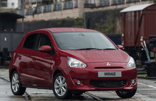 2020 Mitsubishi Mirage Facelift Spotted Testing in Thailand 1