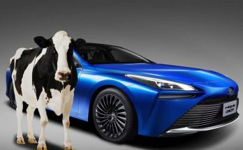 Toyota's New Car can Run on Hydrogen from Cow Manure 11