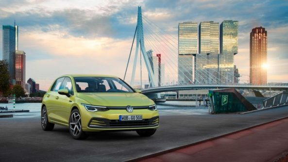 The All New Volkswagen Golf MK8 Debuts 5