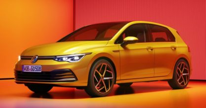 The All New Volkswagen Golf MK8 Debuts 8