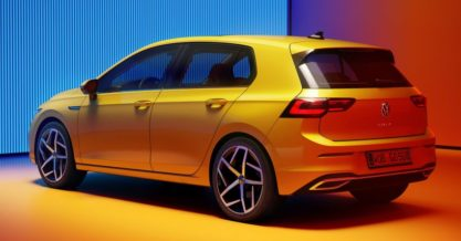 The All New Volkswagen Golf MK8 Debuts 9