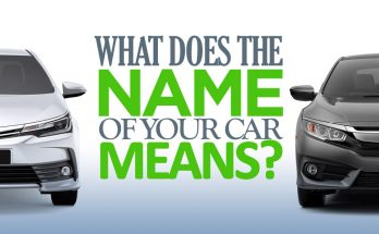 What Does the Name of Your Car Means? 4