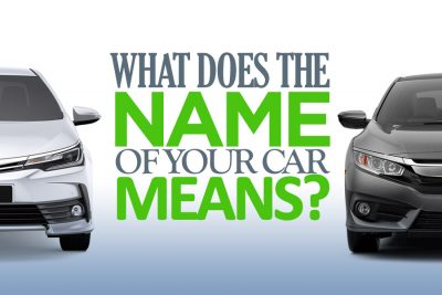 What Does the Name of Your Car Means? 13