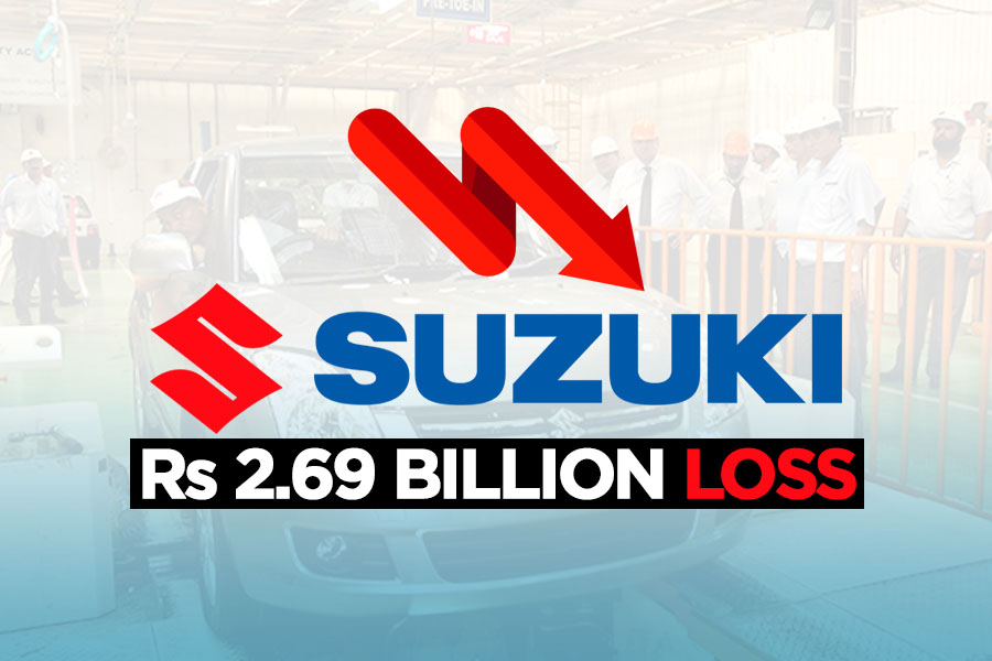 Pak Suzuki Suffers a Loss of Rs 2.69 Billion 7