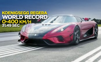 Koenigsegg Regera sets a New 0-400-0 km/h Record 1