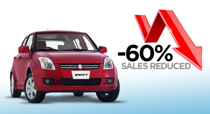 Pak Suzuki Swift Sales Reduced by -60% 1
