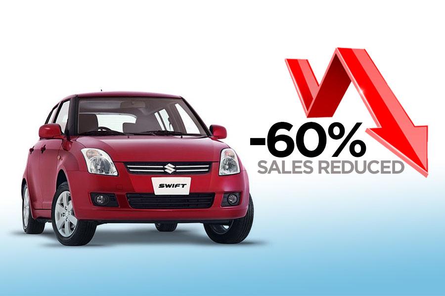 Pak Suzuki Swift Sales Reduced by -60% 5