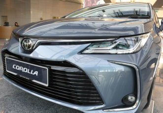 12th gen Toyota Corolla Spotted Testing in Pakistan 5