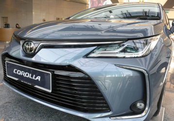 12th gen Toyota Corolla Spotted Testing in Pakistan 4