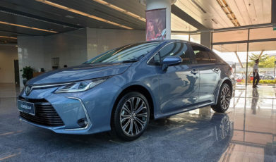 12th gen Toyota Corolla Spotted Testing in Pakistan 4