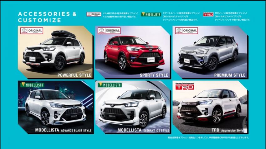 Toyota Raize Compact SUV Leaked 3