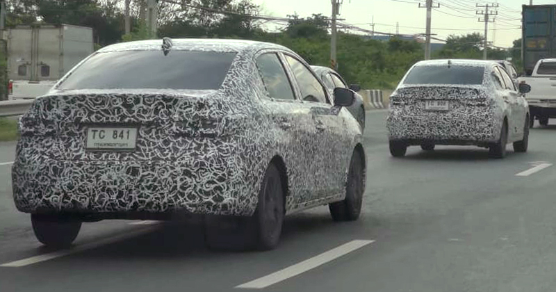 7th Gen Honda City Spied Again Ahead of Debut 6