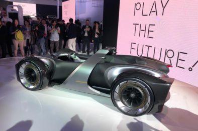 Toyota Unveils e-Racer Concept at 2019 Tokyo Motor Show 2