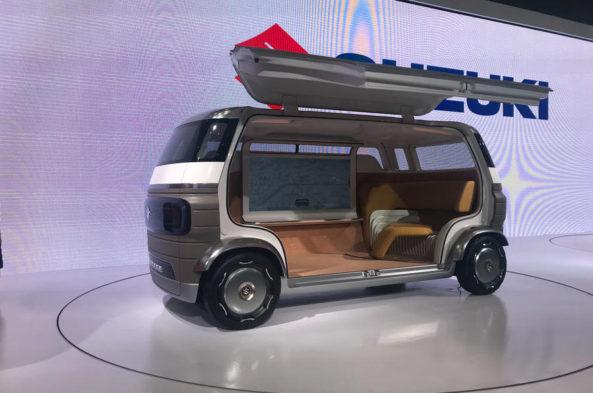 Suzuki Waku SPO and Hanare Concepts at 2019 Tokyo Motor Show 12