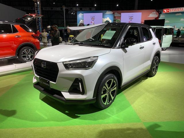 Daihatsu Previews New Compact SUV at 2019 Tokyo Motor Show 3