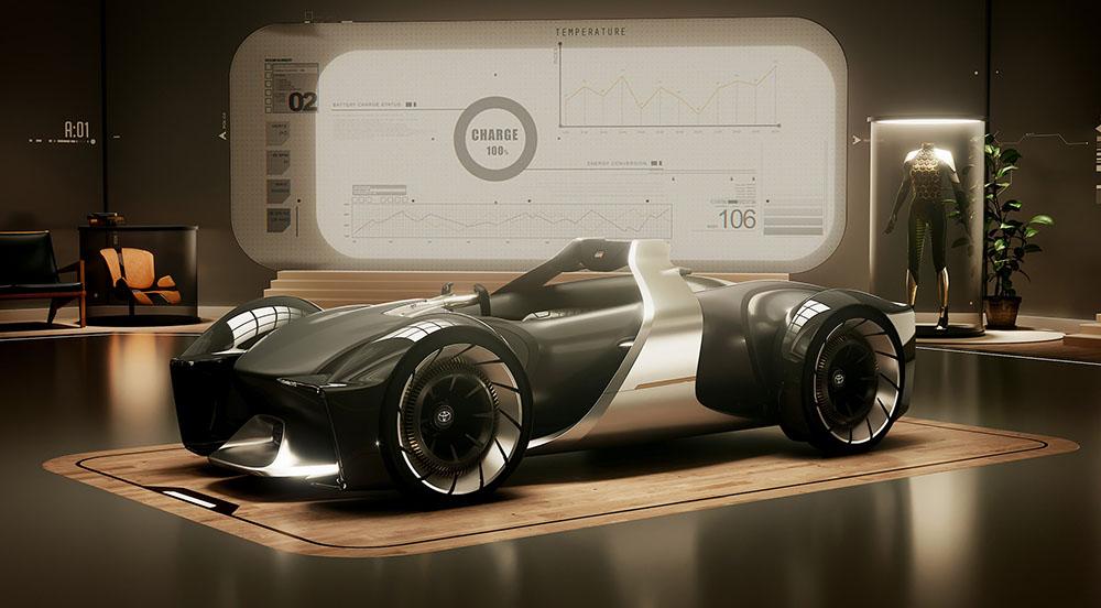Toyota Unveils e-Racer Concept at 2019 Tokyo Motor Show 5