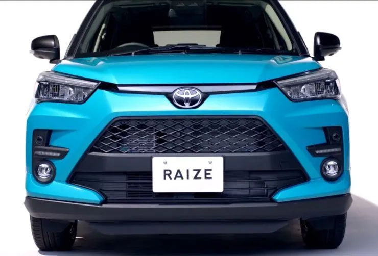 Toyota Raize Compact SUV Leaked 2