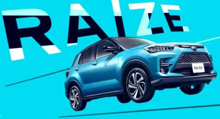 Toyota Raize Compact SUV Leaked 1
