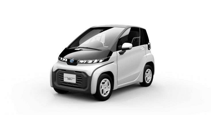 Toyota Reveals Tiny EV Ahead of Tokyo Motor Show 1