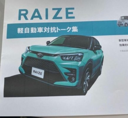 Toyota Raize/ Daihatsu Rocky Details Leaked Ahead of Debut 2