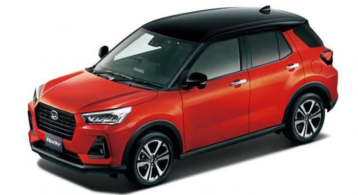 2020 Daihatsu Rocky Compact SUV Launched in Japan 2