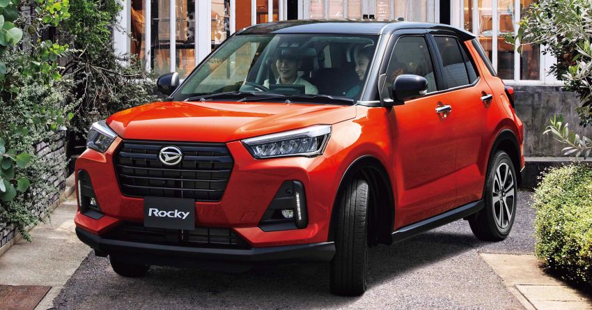 2020 Daihatsu Rocky Compact SUV Launched in Japan 1