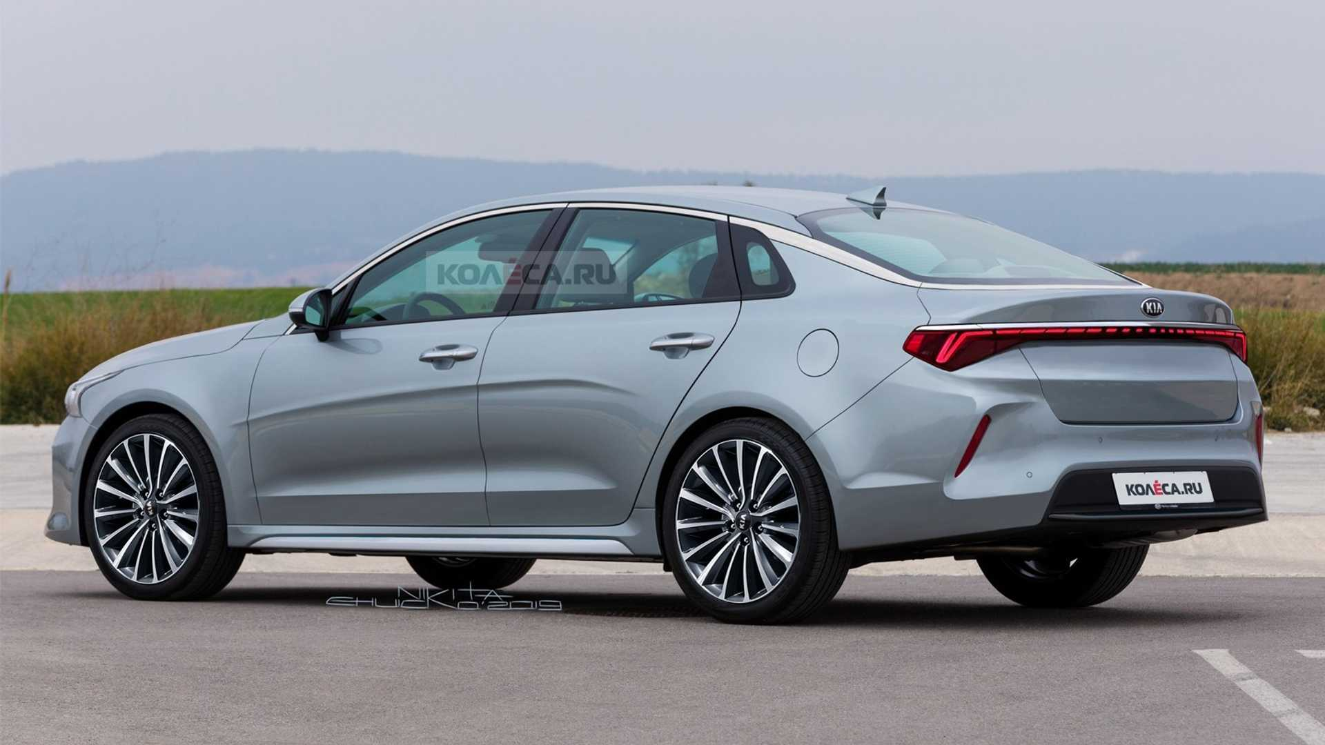 Renderings: Next Gen Kia Optima 2