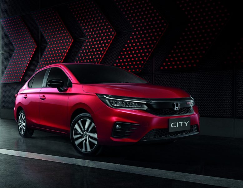 All New 2020 Honda City Debuts in Thailand 2