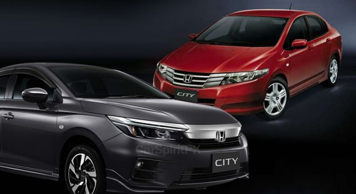 Local Honda City Becomes 2 Generations Old 1