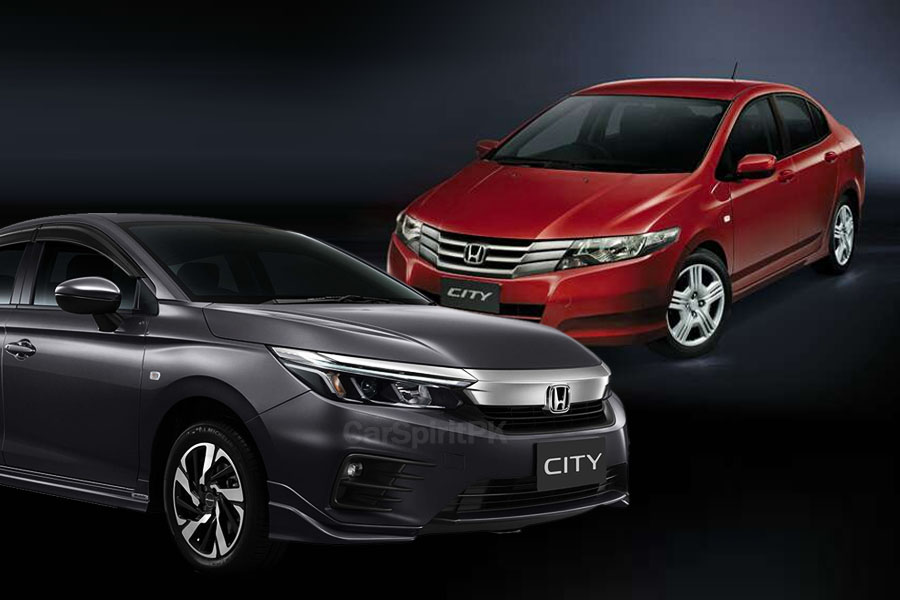 Local Honda City Becomes 2 Generations Old 4
